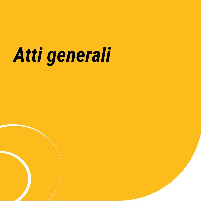 Atti generali