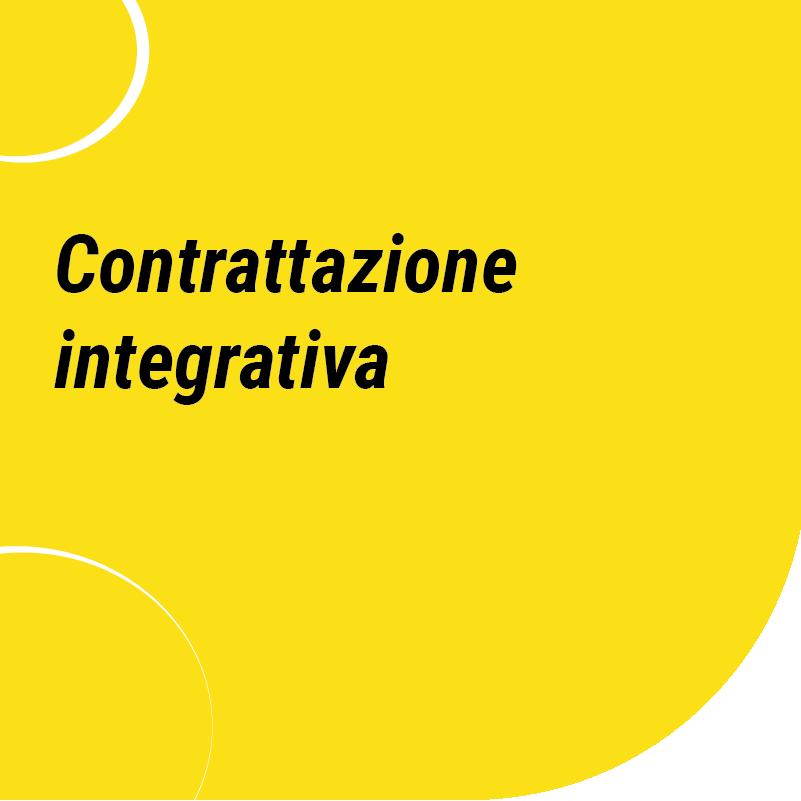 Contrattazione integrativa