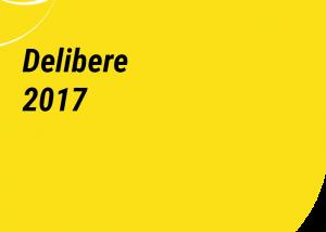 delibere 2017