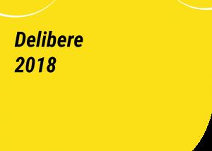 delibere 2018