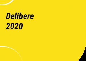 delibere 2020