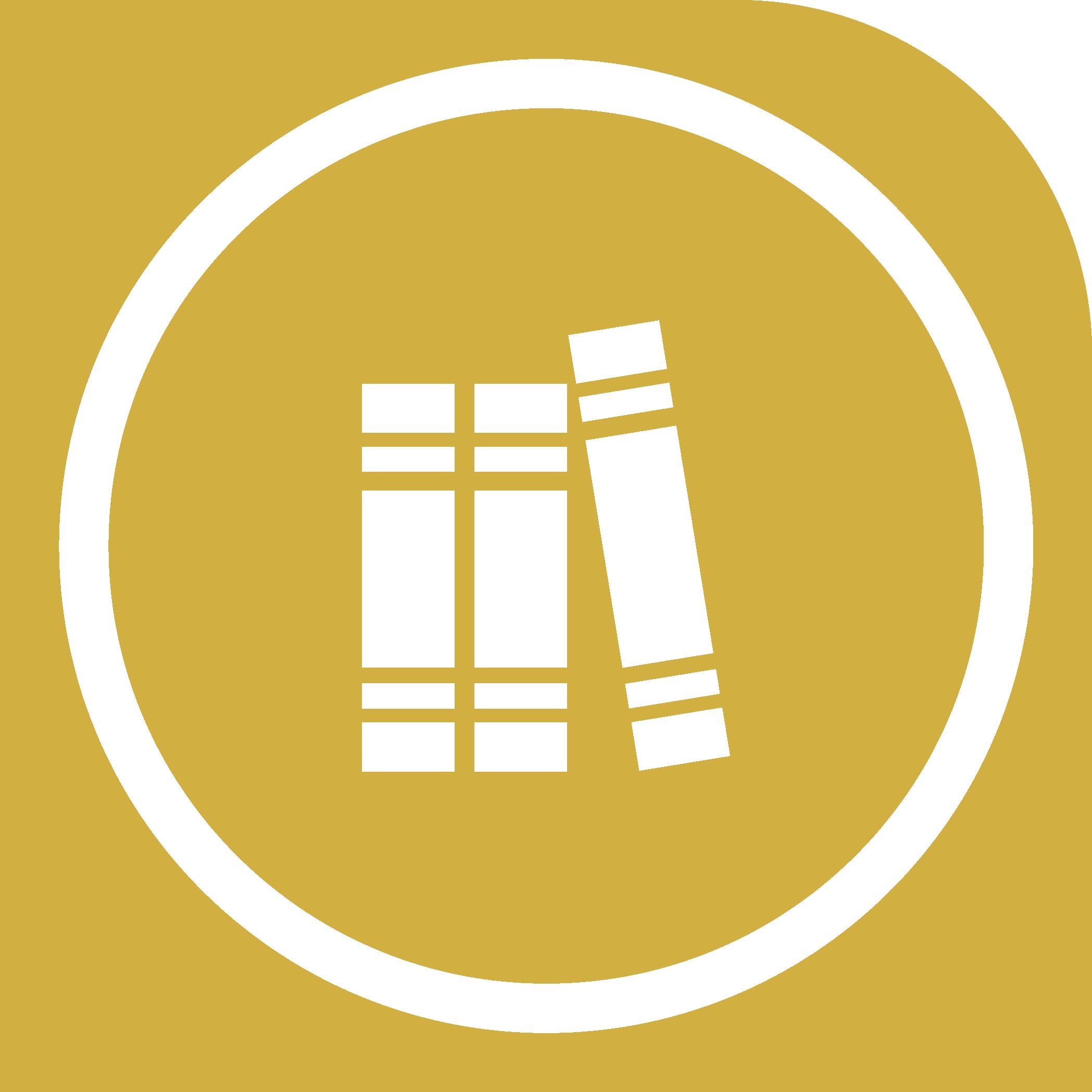 Biblioteca e area di soggiorno